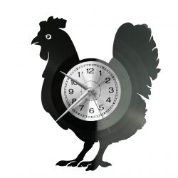 Kurczak Zegar Ścienny Płyta Winylowa Nowoczesny Dekoracyjny Na Prezent Urodziny