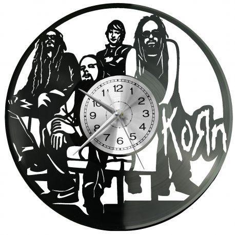 Korn Zegar Ścienny Płyta Winylowa Nowoczesny Dekoracyjny Na Prezent Urodziny