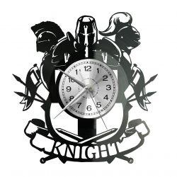 Knight Art Zegar Ścienny Płyta Winylowa Nowoczesny Dekoracyjny Na Prezent Urodziny