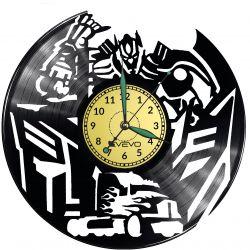 Transformers Vinyl Zegar Ścienny Płyta Winylowa Nowoczesny Dekoracyjny Na Prezent Urodziny