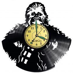 Chewbacca Star Wars Vinyl Zegar Ścienny Płyta Winylowa Nowoczesny Dekoracyjny Na Prezent Urodziny