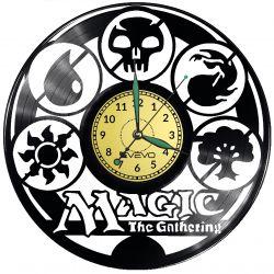 Magic The Gathering Vinyl Zegar Ścienny Płyta Winylowa Nowoczesny Dekoracyjny Na Prezent Urodziny