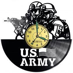 U.S. ARMY Vinyl Zegar Ścienny Płyta Winylowa Nowoczesny Dekoracyjny Na Prezent Urodziny