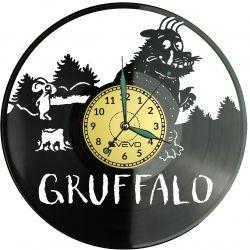 Gruffalo Zegar Ścienny Płyta Winylowa Nowoczesny Dekoracyjny Na Prezent Urodziny