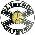 Lynyrd Skynyrd Zegar Ścienny Płyta Winylowa Nowoczesny Dekoracyjny Na Prezent Urodziny