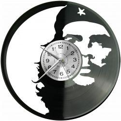 Che Guevara Zegar Ścienny Płyta Winylowa Nowoczesny Dekoracyjny Na Prezent Urodziny