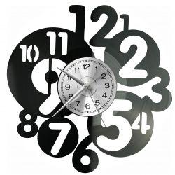 Cyferki Zegar Ścienny Płyta Winylowa Nowoczesny Dekoracyjny Na Prezent Urodziny