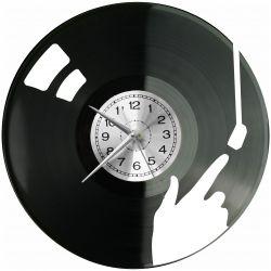 Muzyka Zegar Ścienny Płyta Winylowa Nowoczesny Dekoracyjny Na Prezent Urodziny