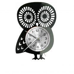 Sowa Zegar Ścienny Płyta Winylowa Nowoczesny Dekoracyjny Na Prezent Urodziny