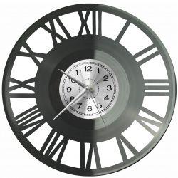 Rzymskie Cyfry Zegar Ścienny Płyta Winylowa Nowoczesny Dekoracyjny Na Prezent Urodziny
