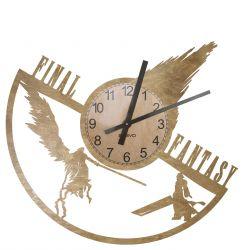Final Fantasy Zegar Ścienny Drewniany