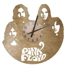 Pink Floyd Zegar Ścienny Drewniany
