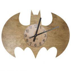 Batman Zegar Ścienny Drewniany