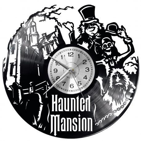 Haunted Mansion Zegar Ścienny Płyta Winylowa Nowoczesny Dekoracyjny Na Prezent Urodziny