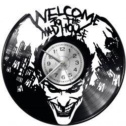 Joker Batman Zegar Ścienny Płyta Winylowa Nowoczesny Dekoracyjny Na Prezent Urodziny