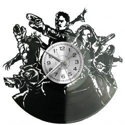 Guardians of the Galaxy Zegar Ścienny Płyta Winylowa Nowoczesny Dekoracyjny Na Prezent Urodziny