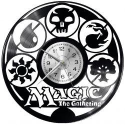 Magic The Gathering Zegar Ścienny Płyta Winylowa Nowoczesny Dekoracyjny Na Prezent Urodziny